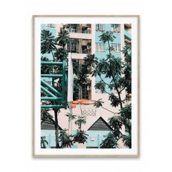 Paper Collective Cities of Baskeball 01 (Hong Kong)