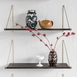 We Do Wood Loop Shelf Dark - Flere varianter