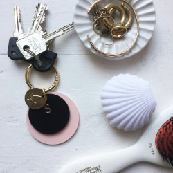 Stolbjerg Copenhagen Key Darling Guld - Rose/Sort/Messing