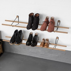 We Do Wood Shoe Rack