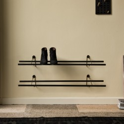 We Do Wood Shoe Rack Dark - Flere varianter