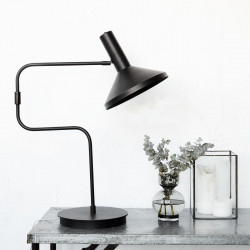 House Doctor - Mall Made Bordlampe Sort