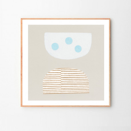 The Poster Club - Blue Eggs